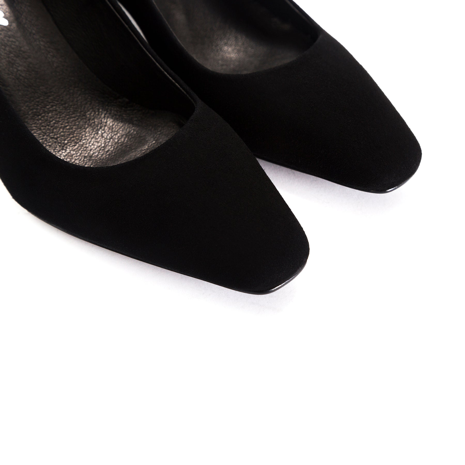 Betheney Black Suede Shoes