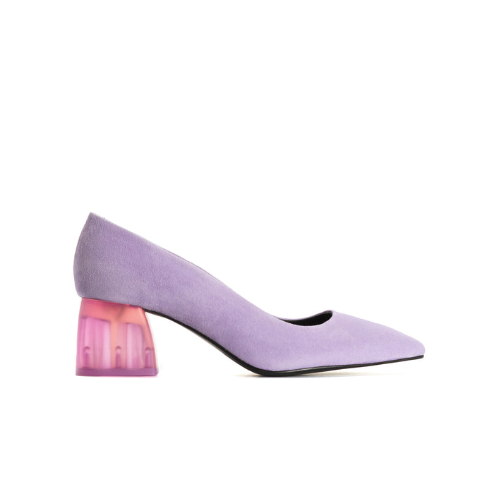 Betheney Lilac Suede Shoes