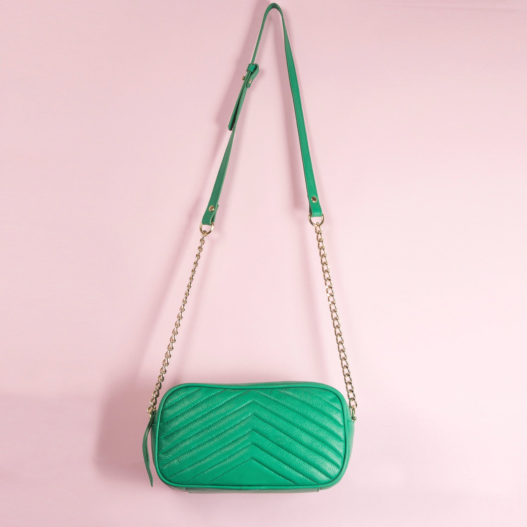 Bijoux Green Leather
