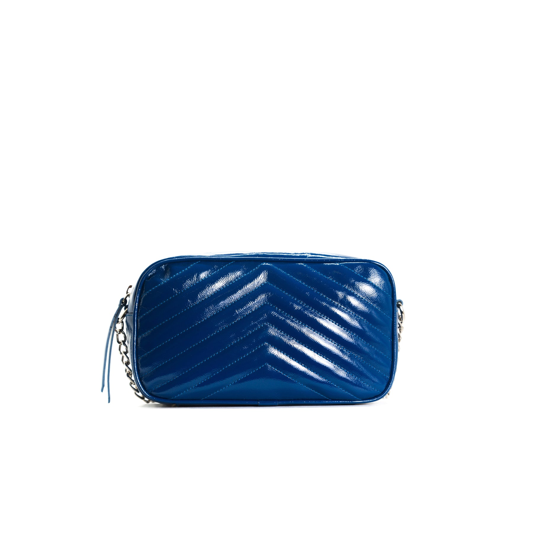 Bijoux Navy Naplack Bag