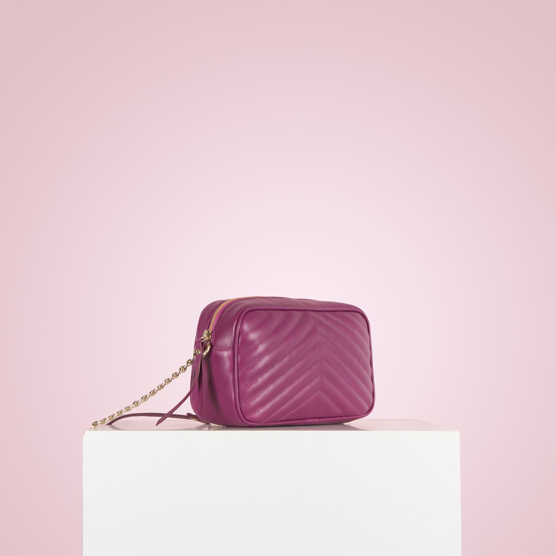 Bijoux Purple Leather