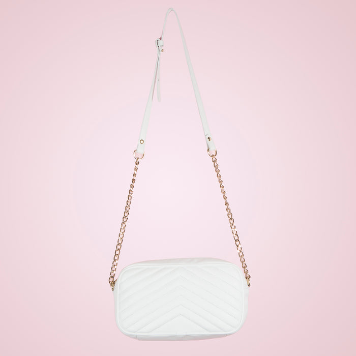Bijoux White Leather
