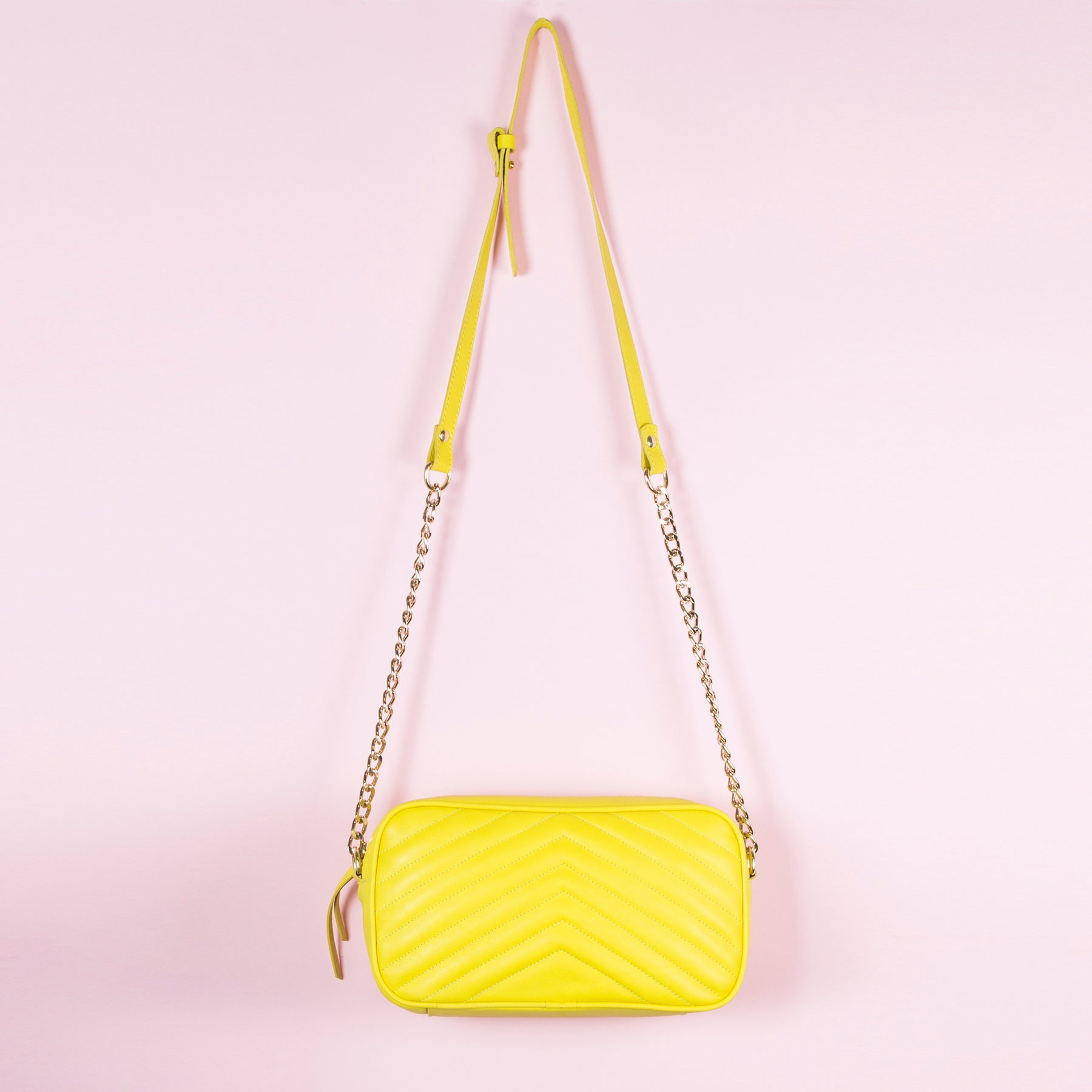 Bijoux Yellow Leather