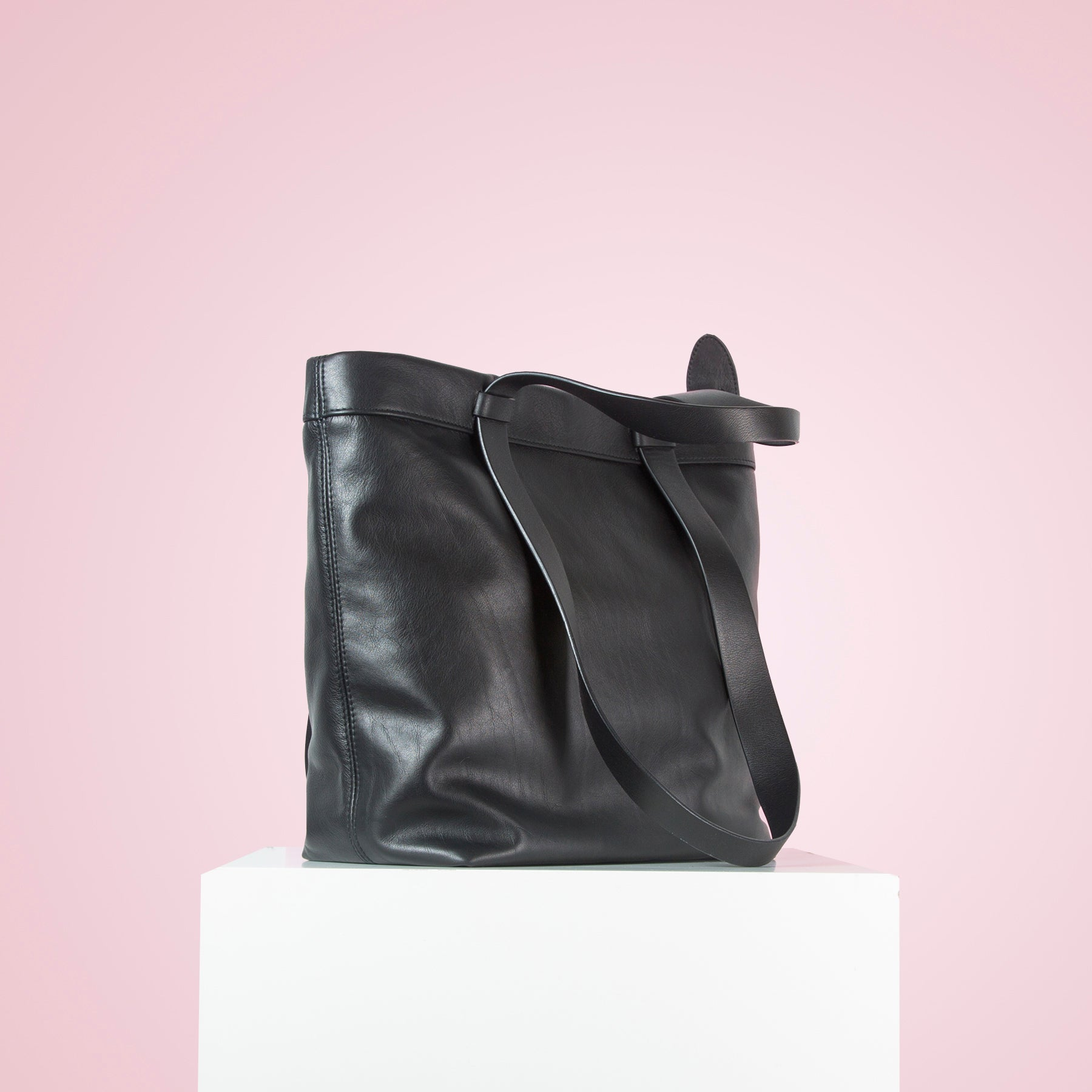 Claudine Black Leather