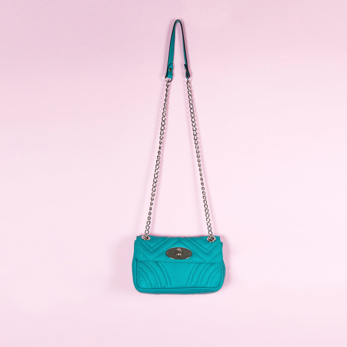 Juliet Aqua Leather