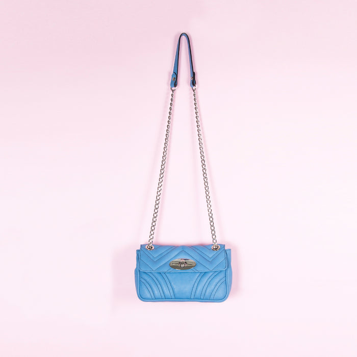 Juliet Blue Leather