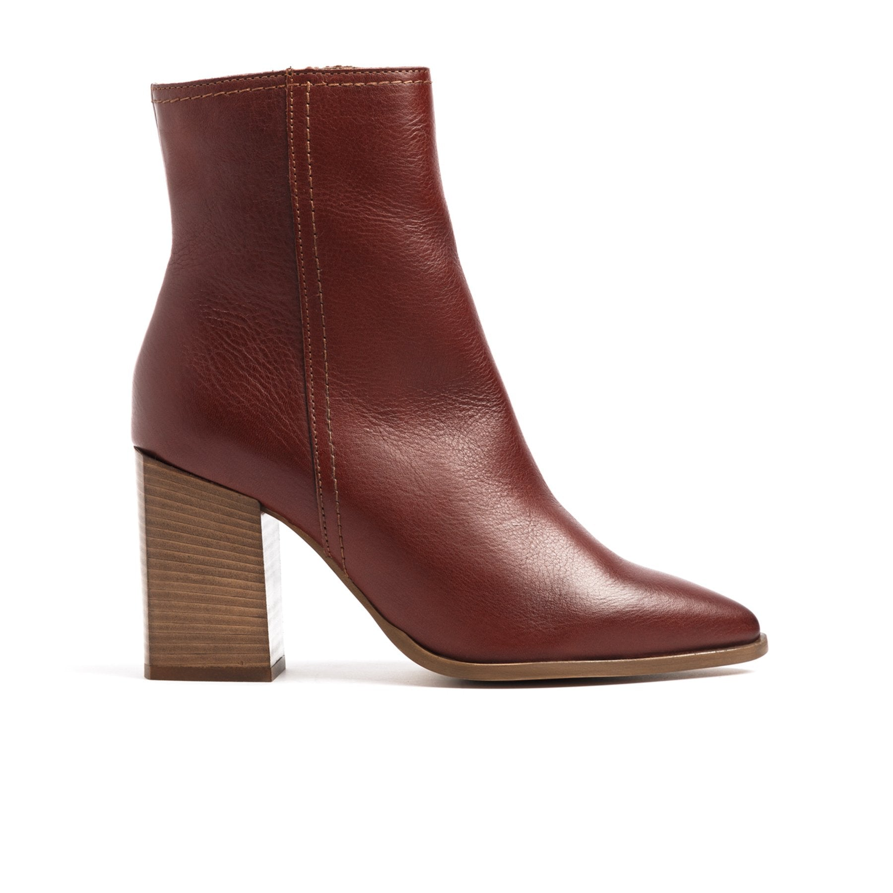 Cairo Red Leather Boots