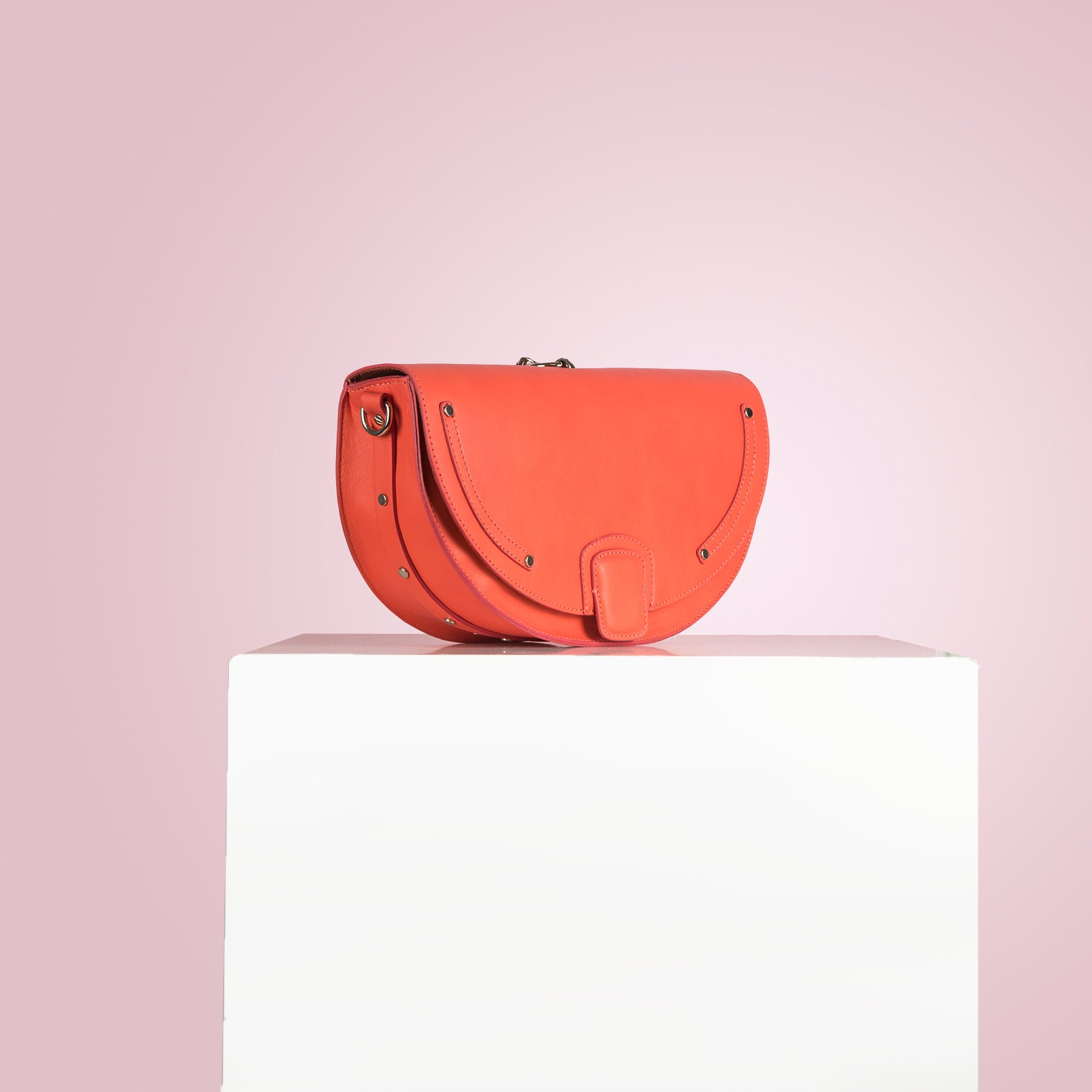Chantal Coral Leather