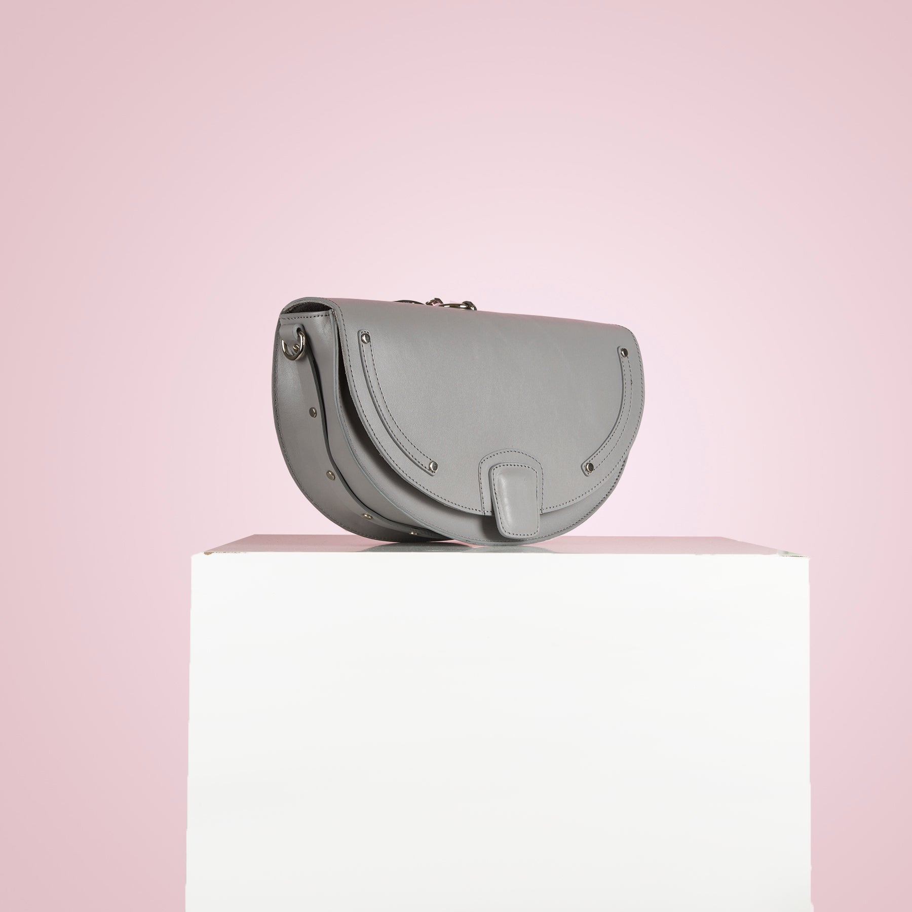 Chantal Grey Leather