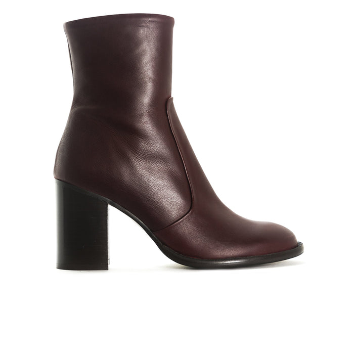 Charlston Bordo Leather Boots