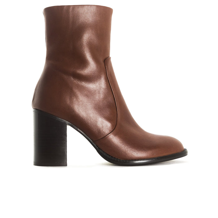 Charlston Brown Leather Boots