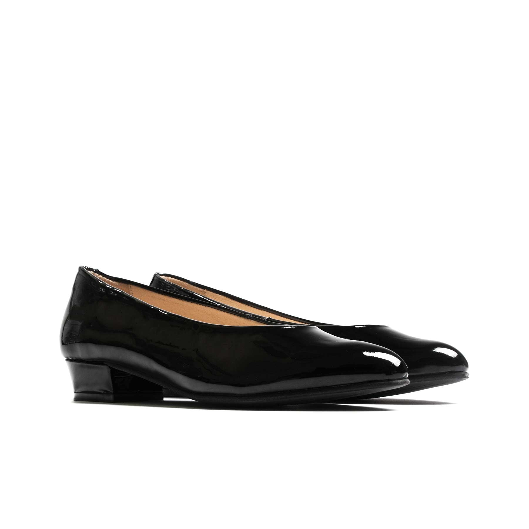 Pumps, Clau Black Patent Leather - Lintervalle shoes for woman