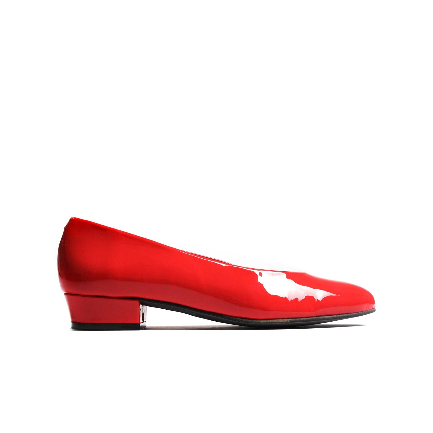 Pumps, Clau Red Patent Leather - Lintervalle shoes for woman