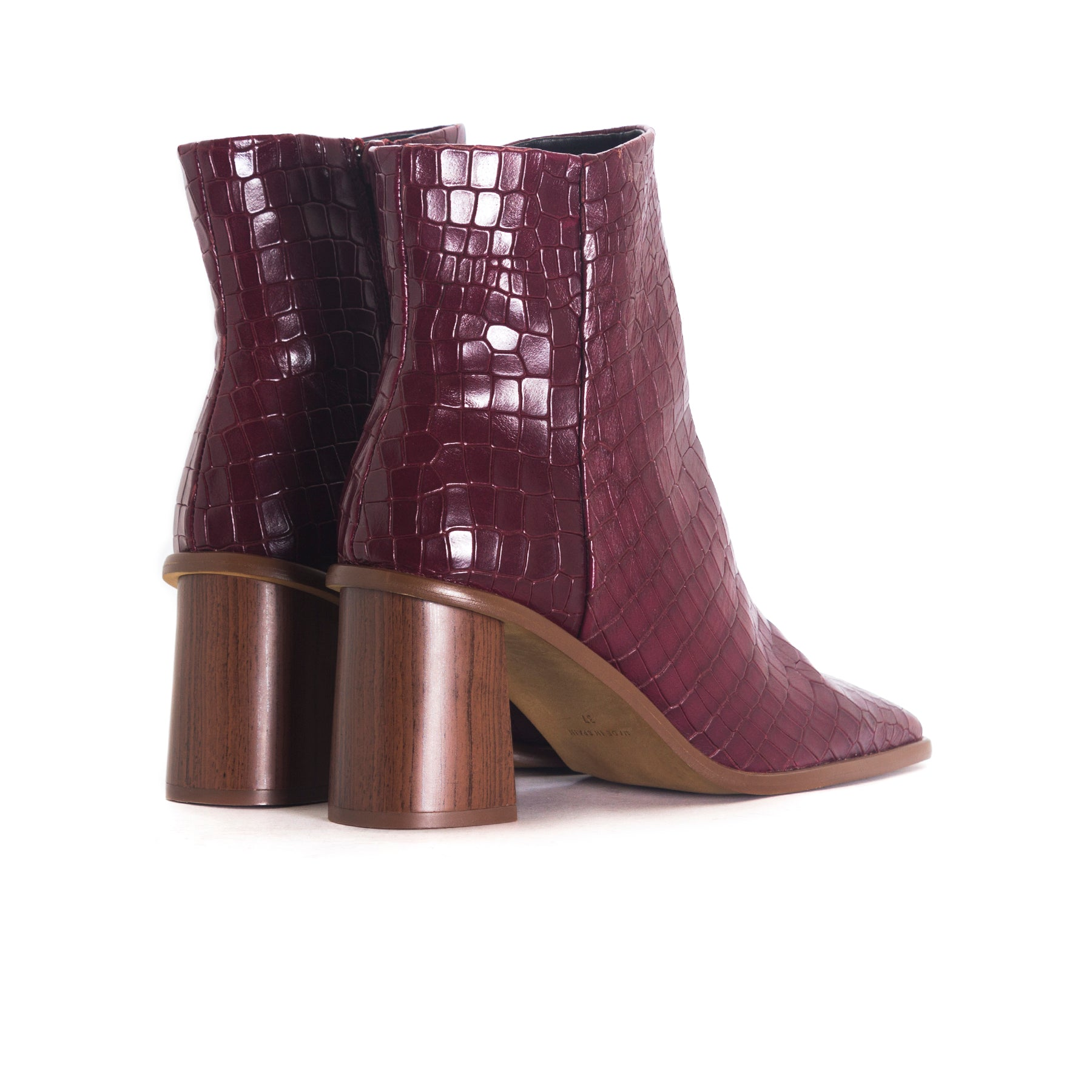 Condu Bordo Coco Booties