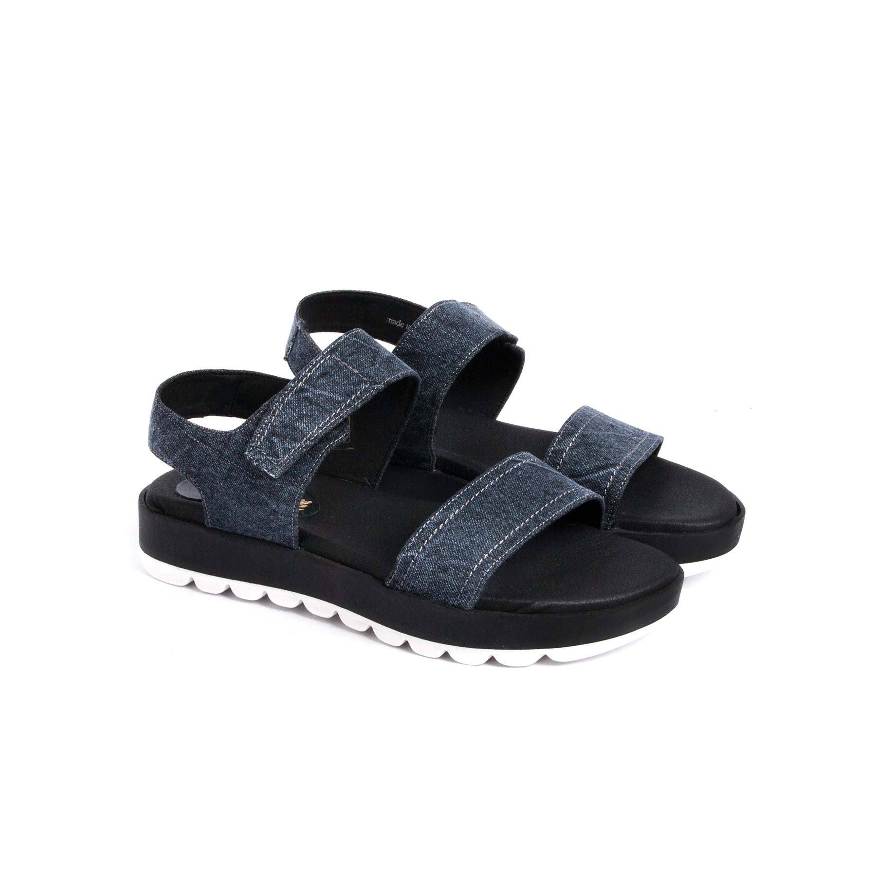 Sandals, Cuter Denim - Lintervalle shoes for woman