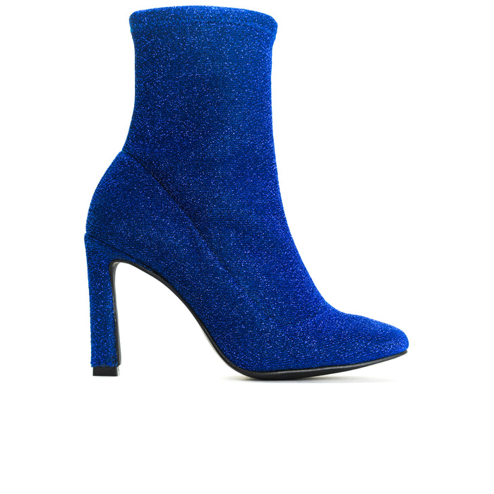 Dafni Blue Stretch Booties