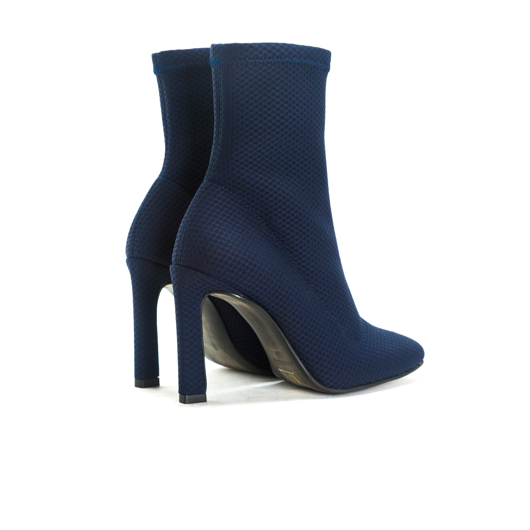 Dafni Navy Stretch Booties