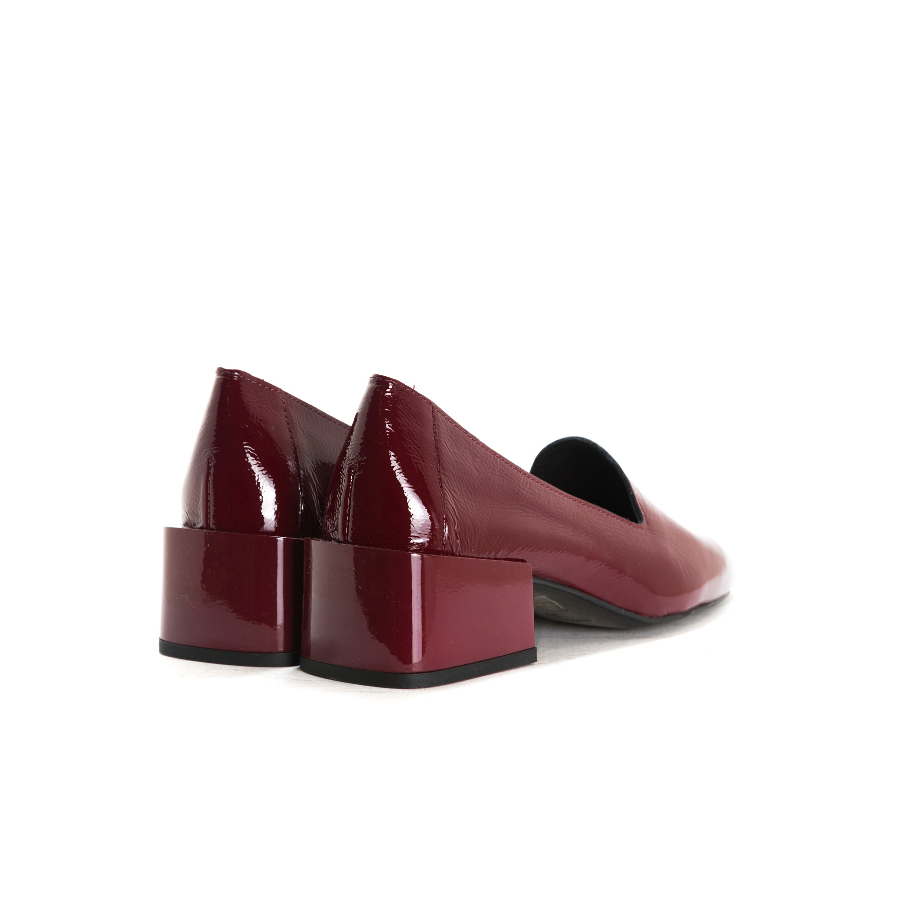 Dawn Bordo Naplack Shoes