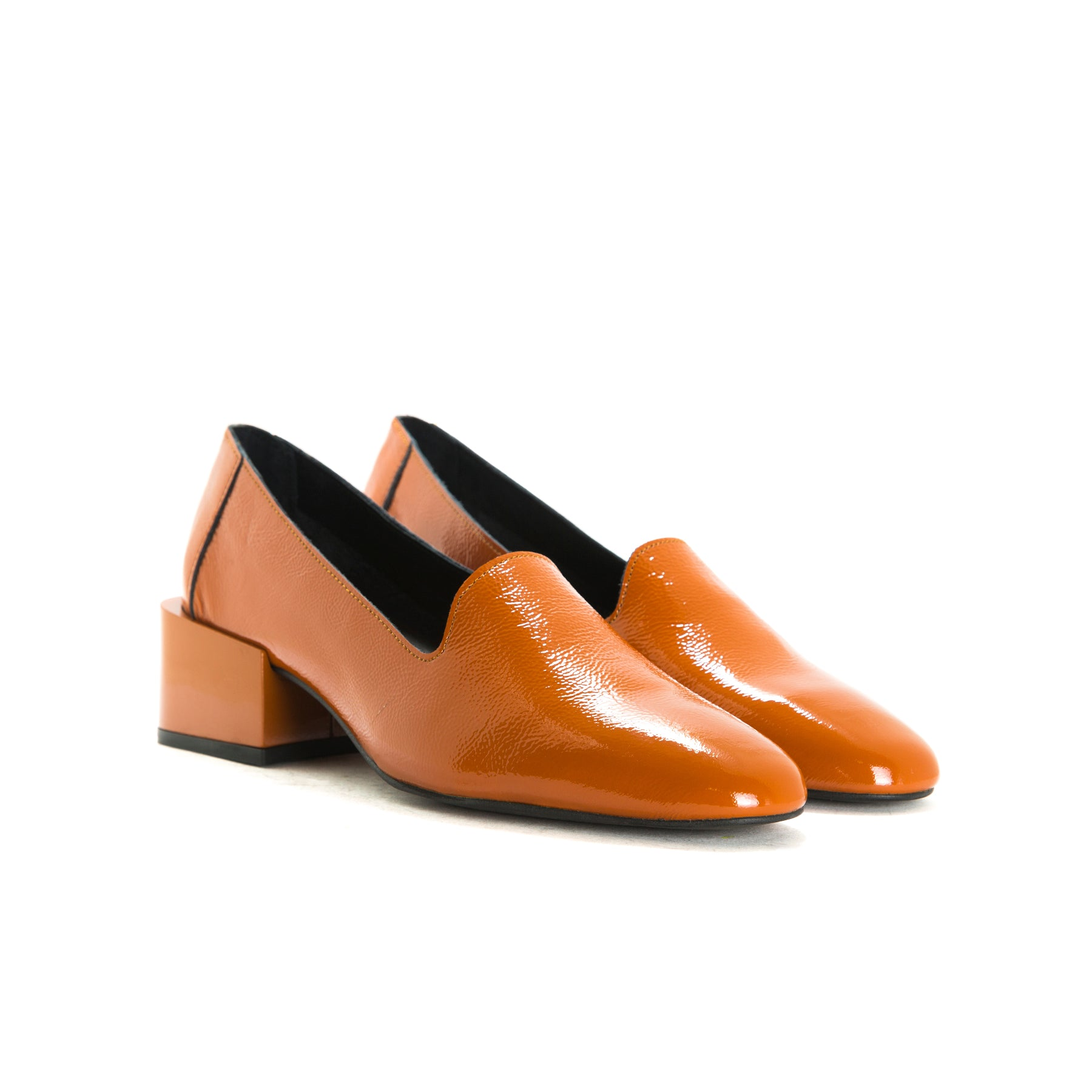 Dawn Orange Naplack Shoes