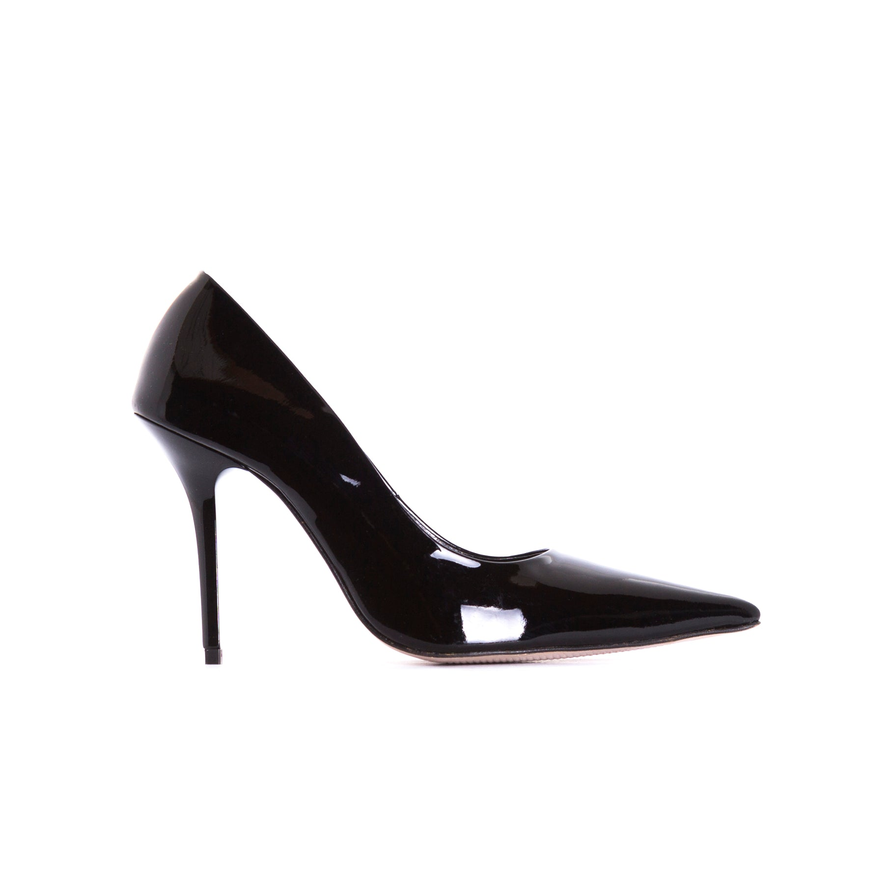 Devola Black Patent Pumps