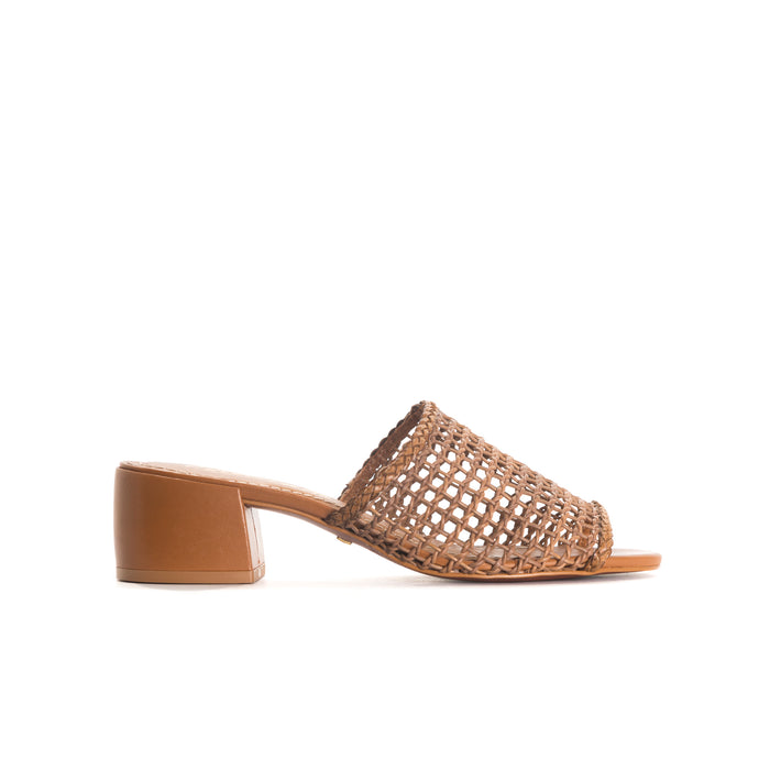 Dia Chesnut Leather Sandals - COMING SOON