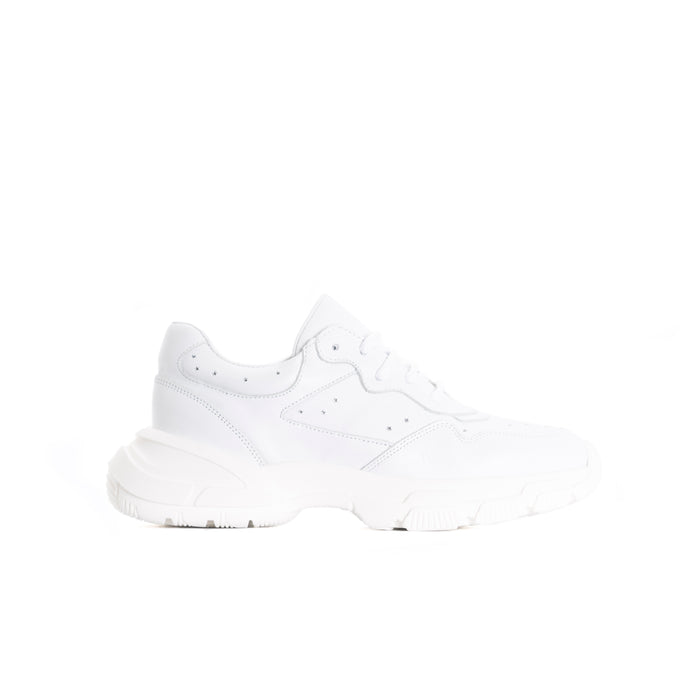 Fab White Leather Sneakers