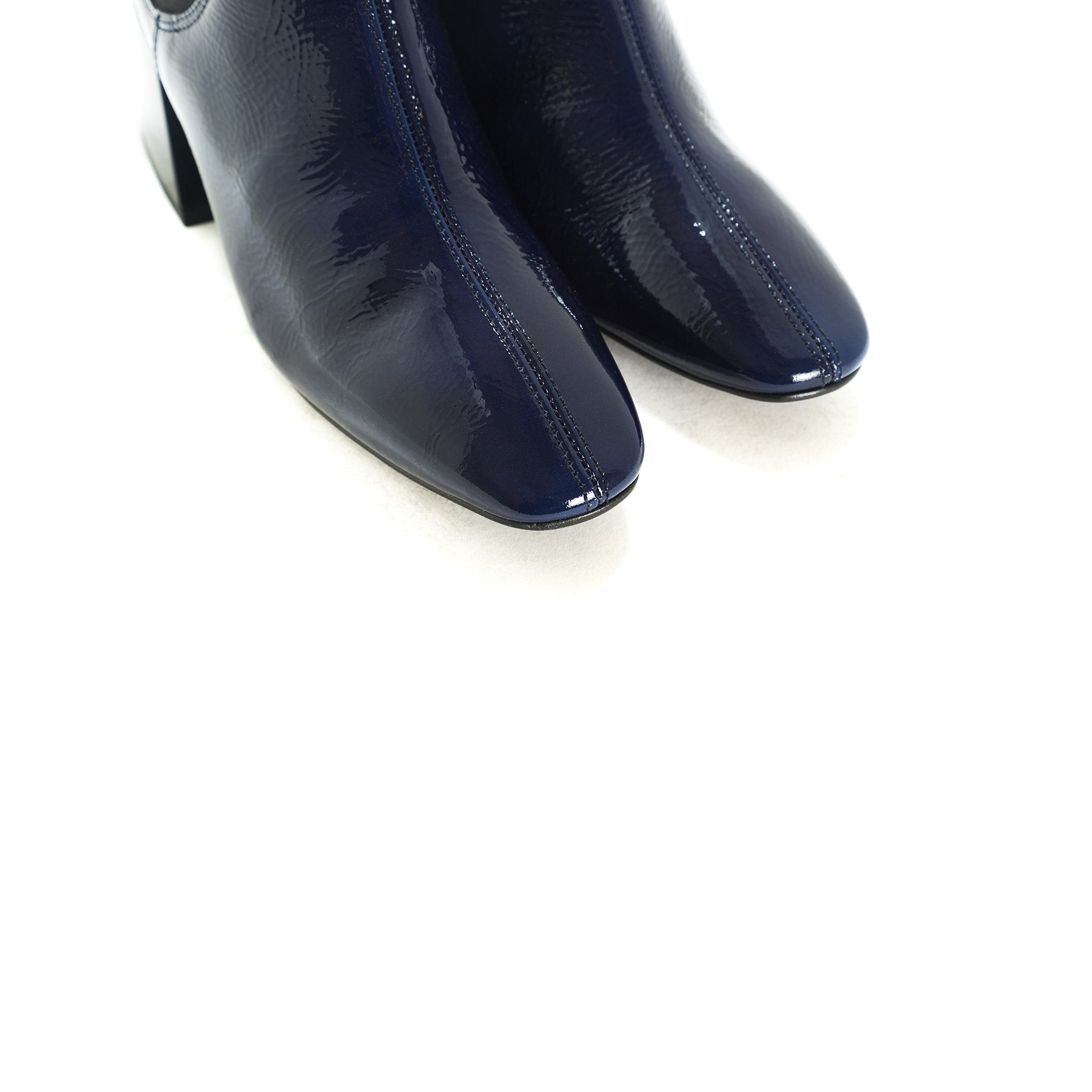 Fawn Navy Naplack Boots