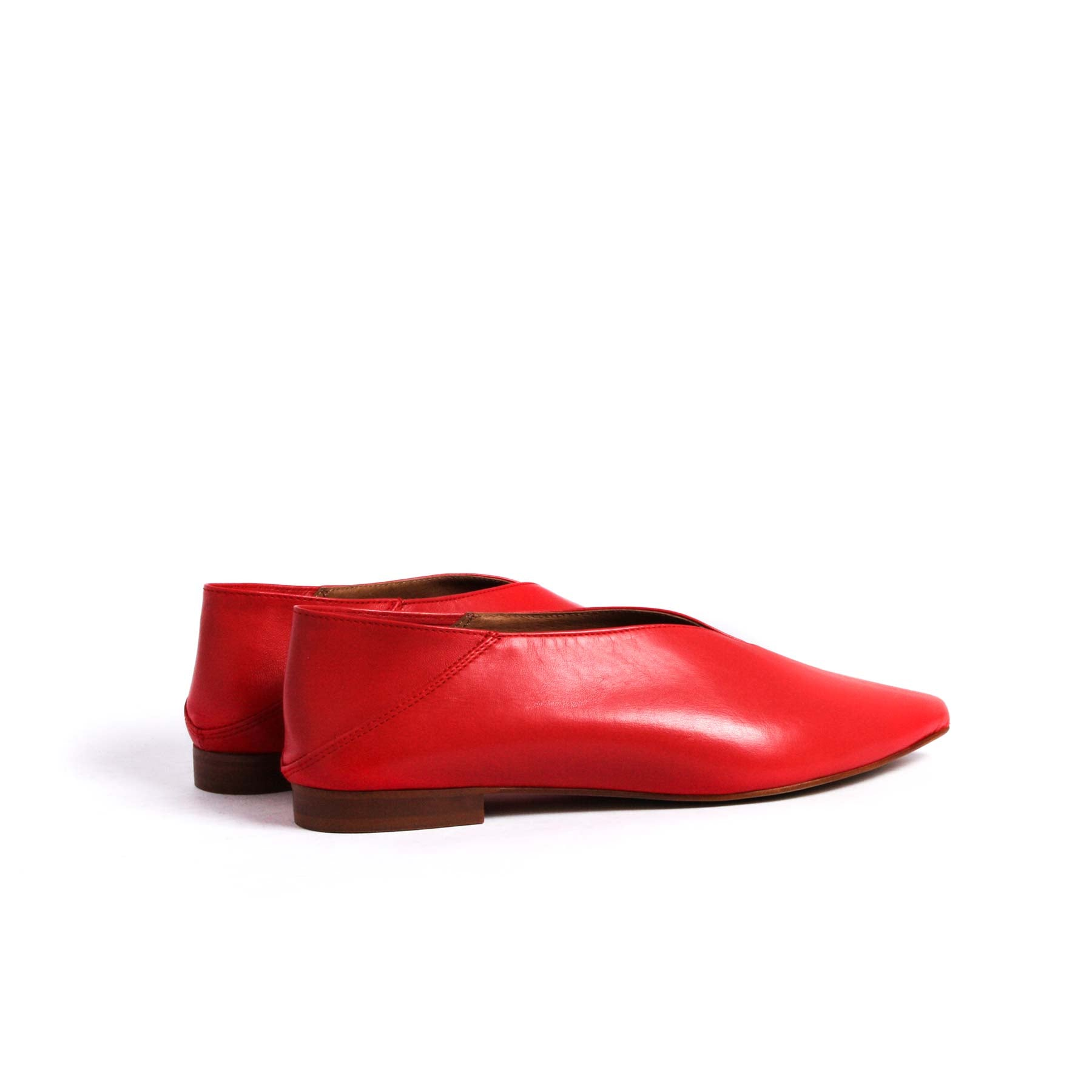 Felina Red Leather