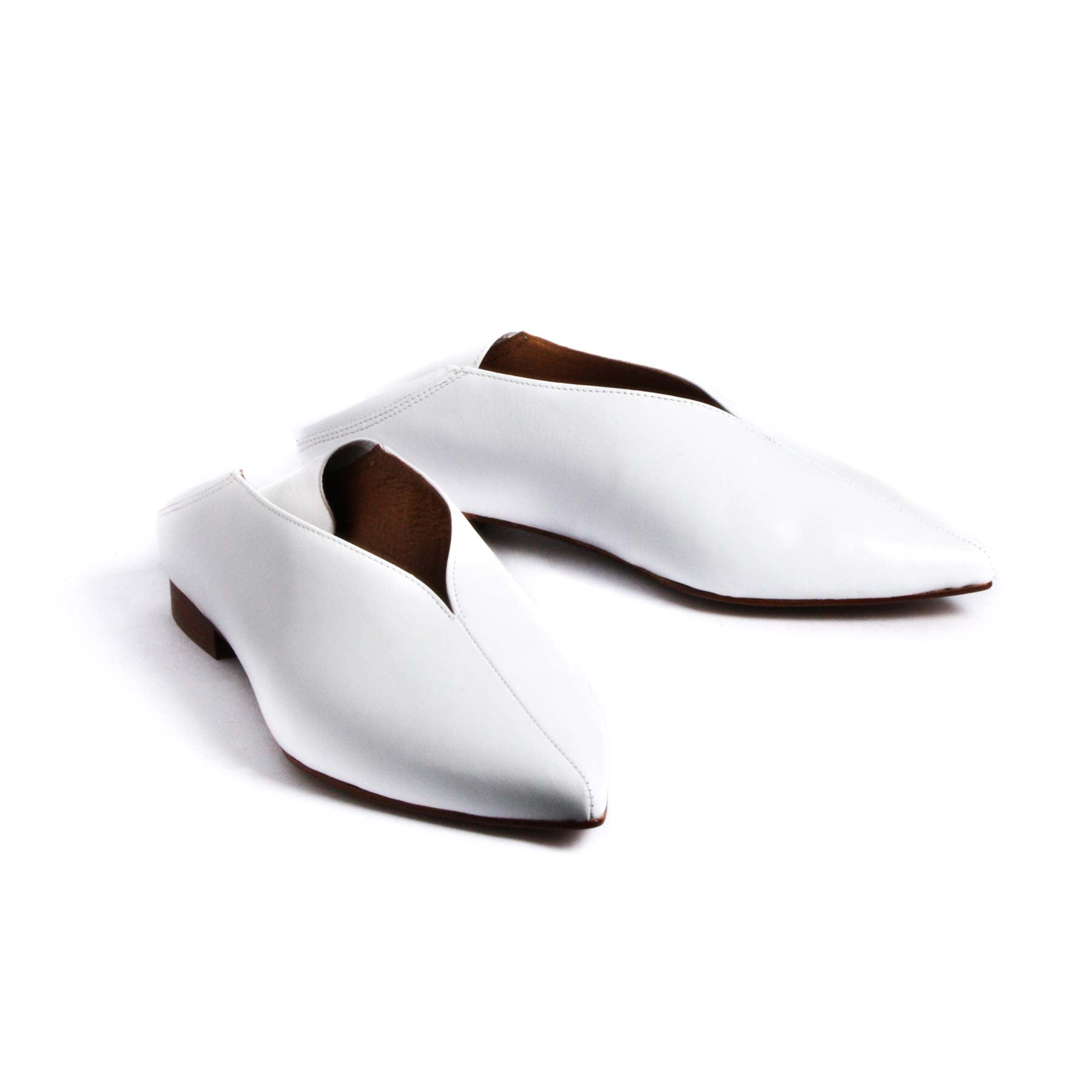 Felina White Leather