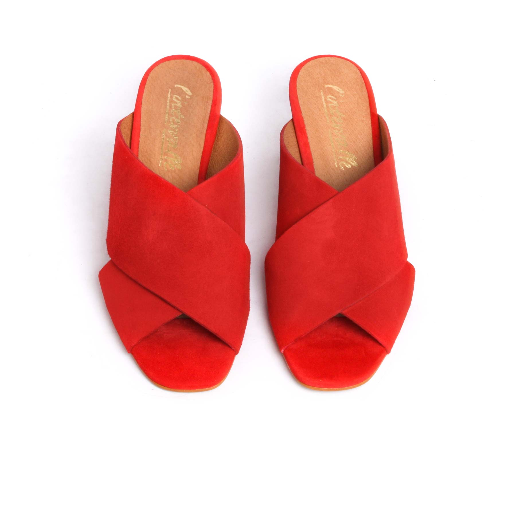 Fuko Red Suede