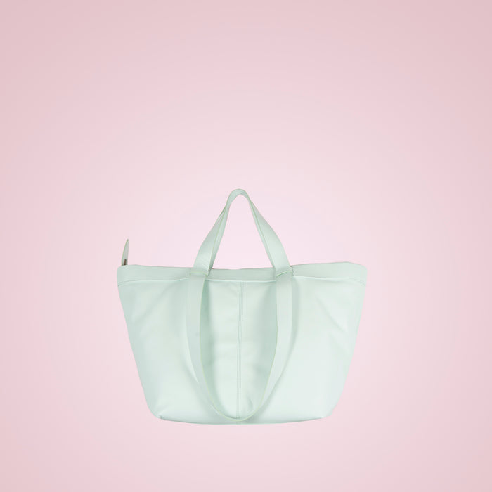 Geraldine Mint Leather