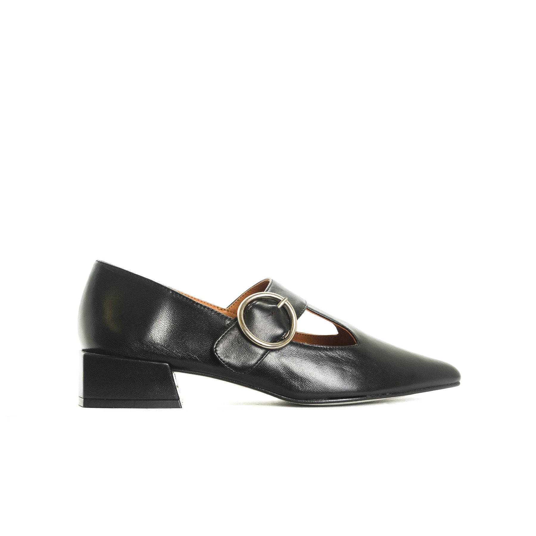 Gilmore Black Leather Shoes