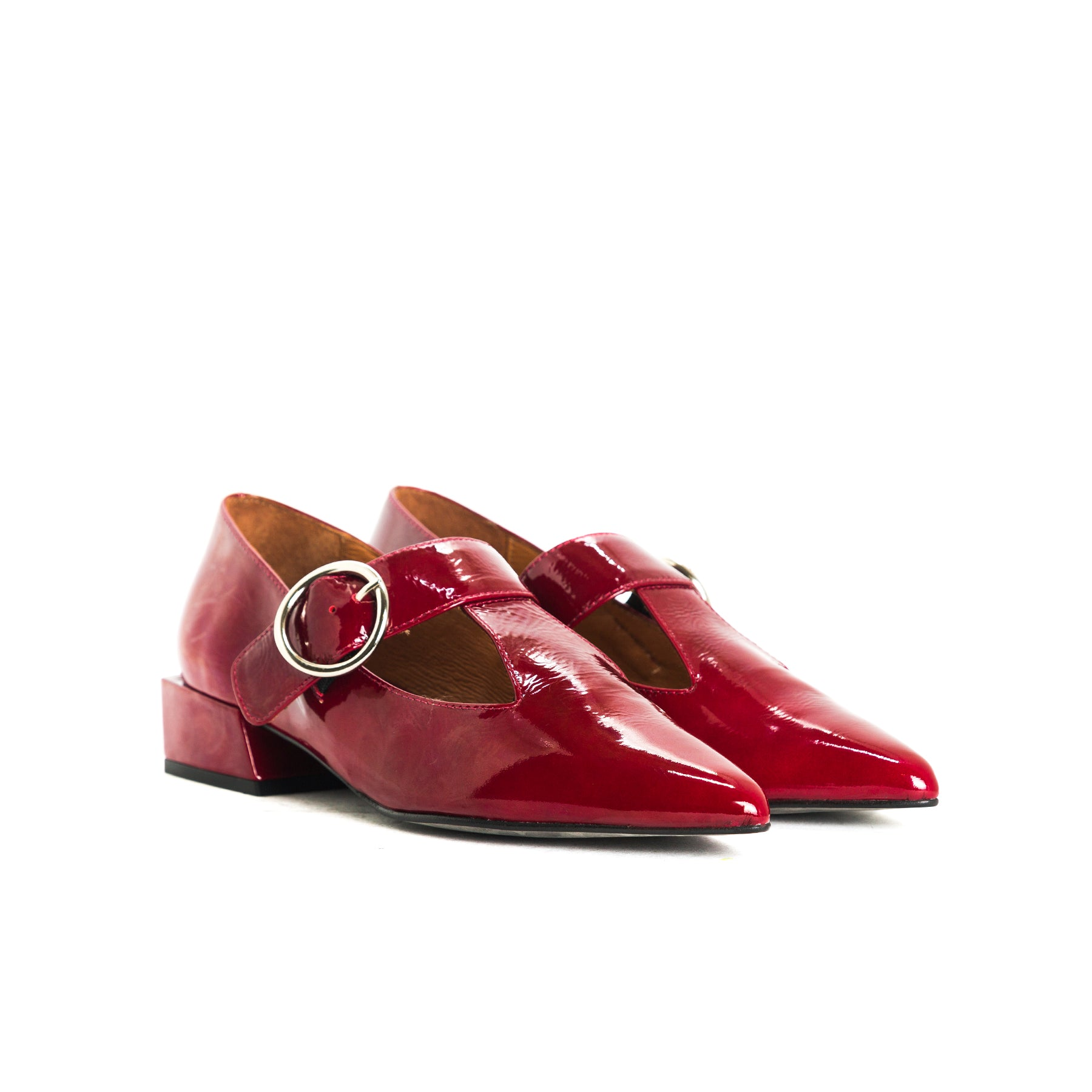 Gilmore Bordo Naplack Shoes