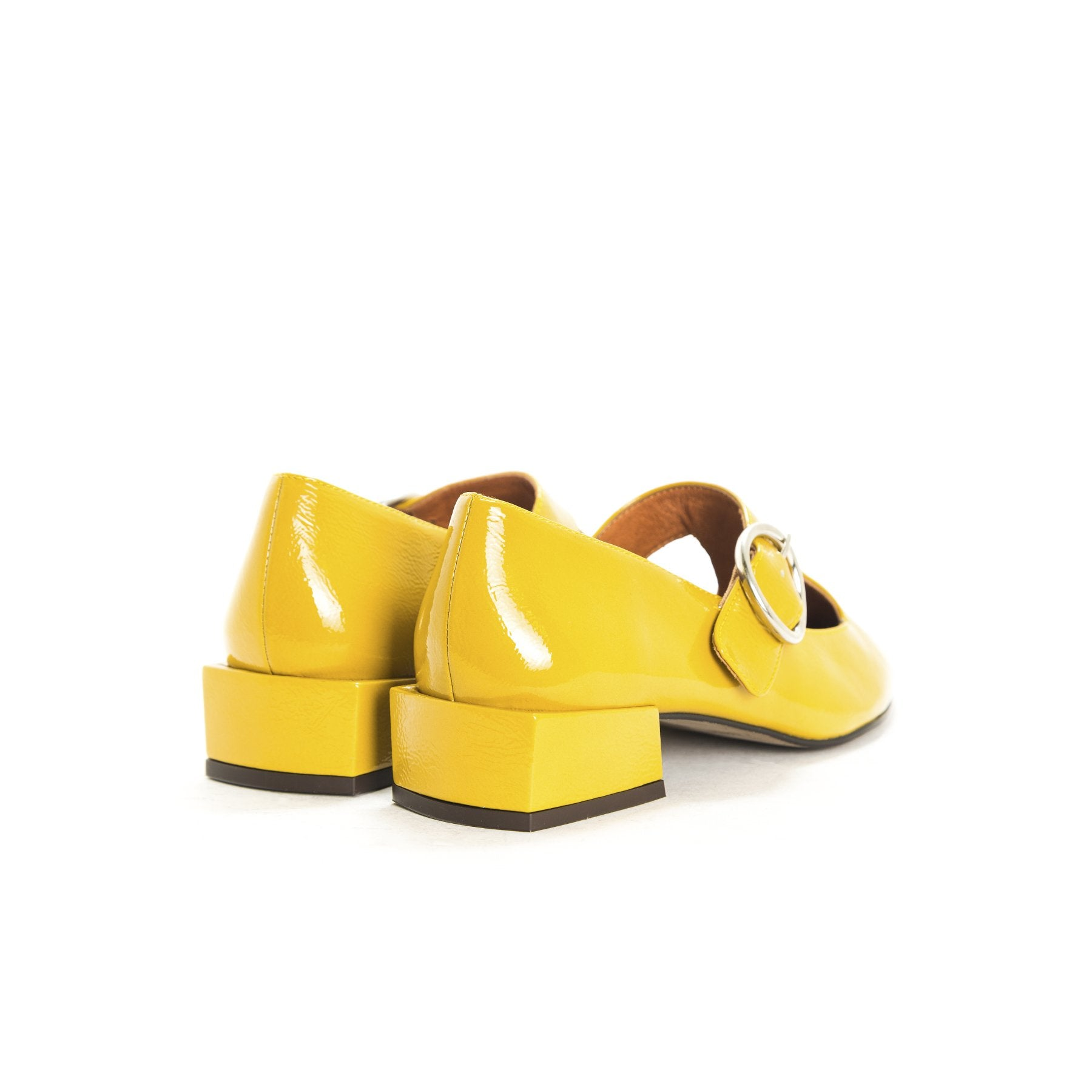 Gilmore Mustard Naplack Shoes