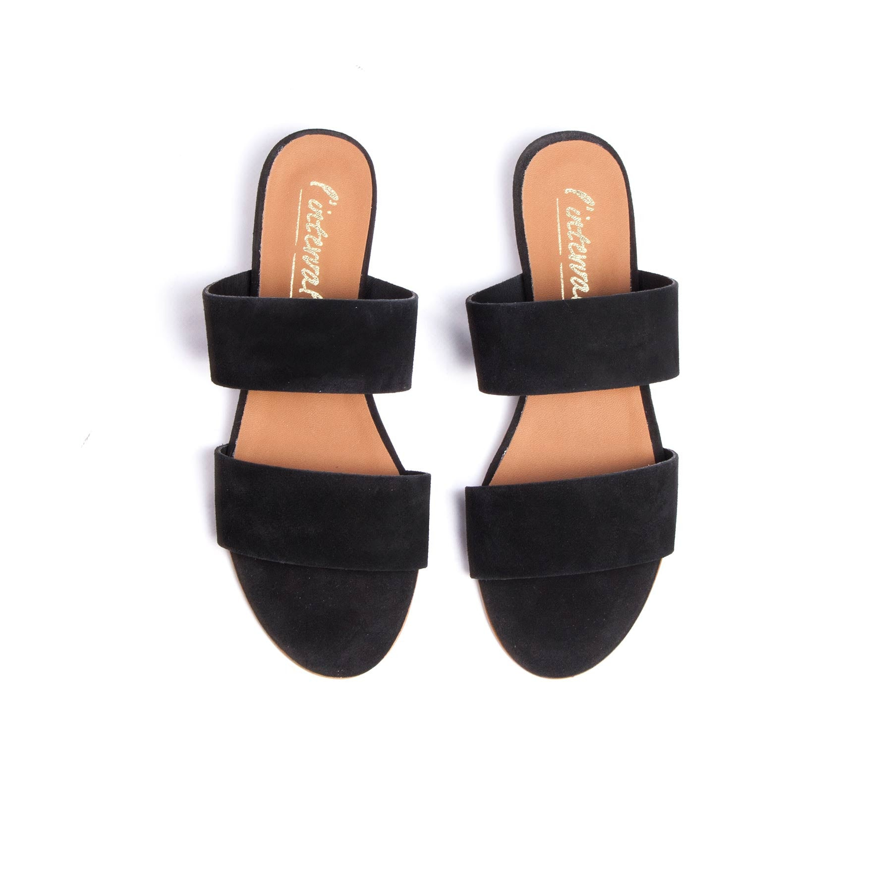 Giselle Black Suede