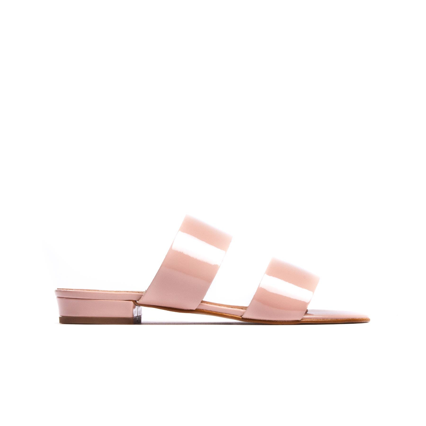 Giselle Nude Patent Leather