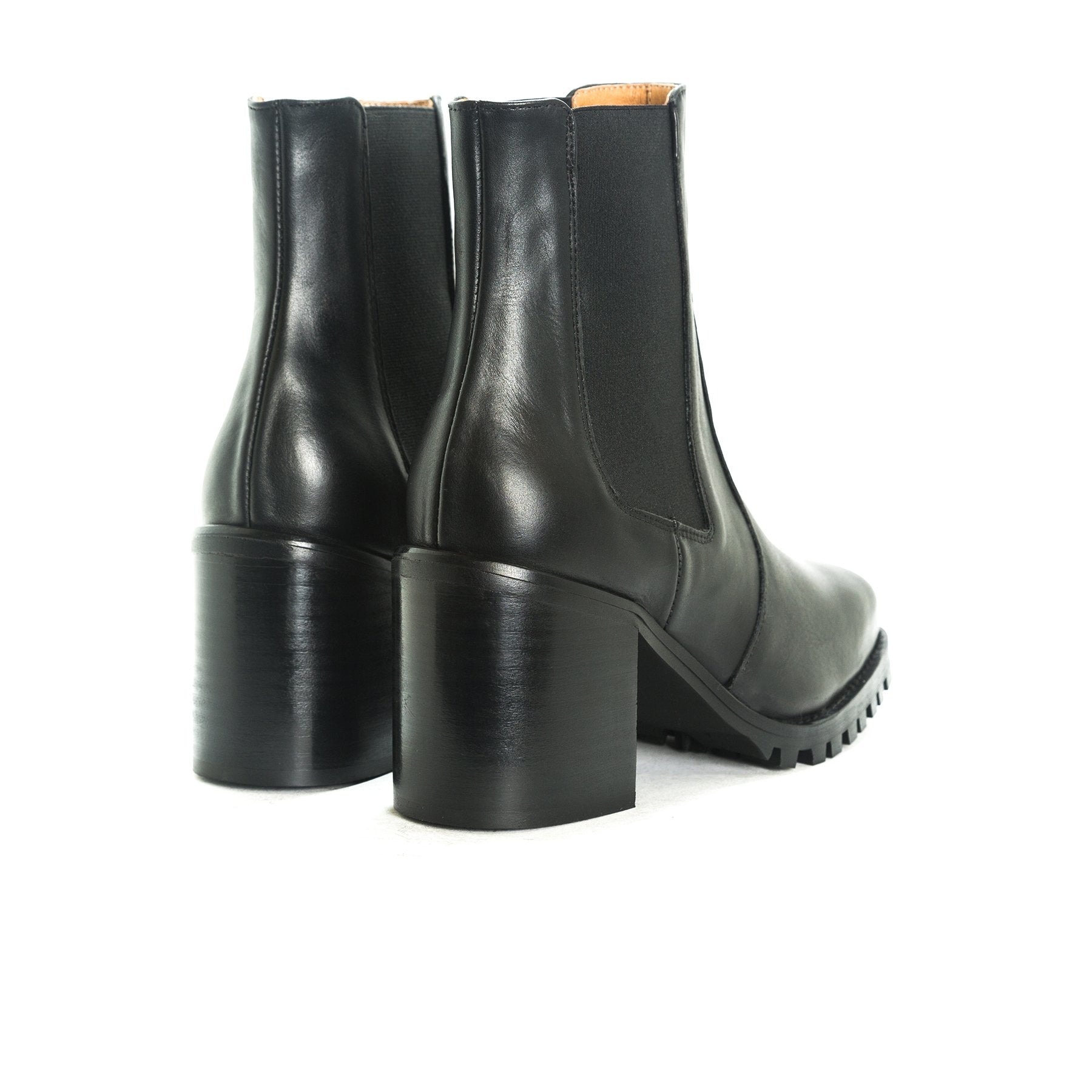 Houso Black Leather