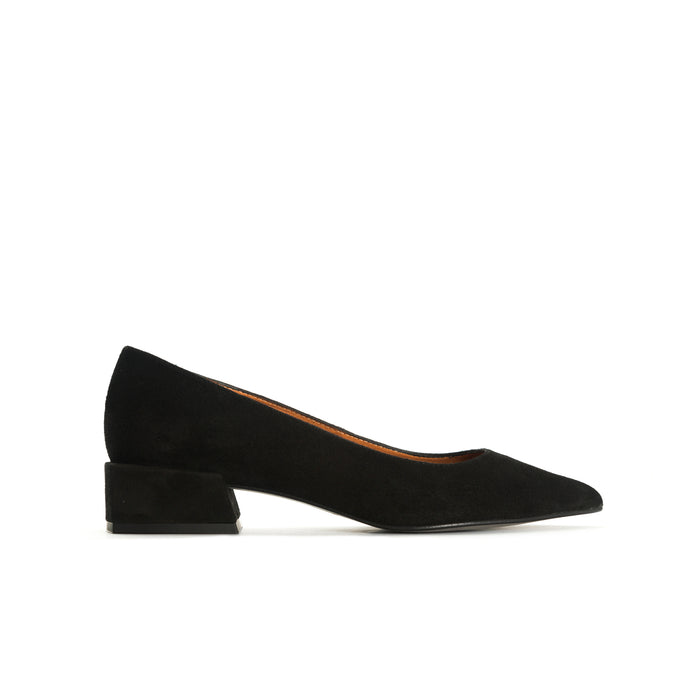 Ingrid Black Suede Shoes