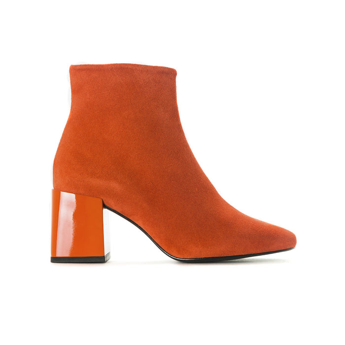 Ithaca Orange Suede