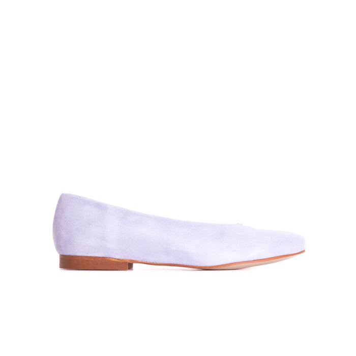 Juany Lilac Suede Shoes