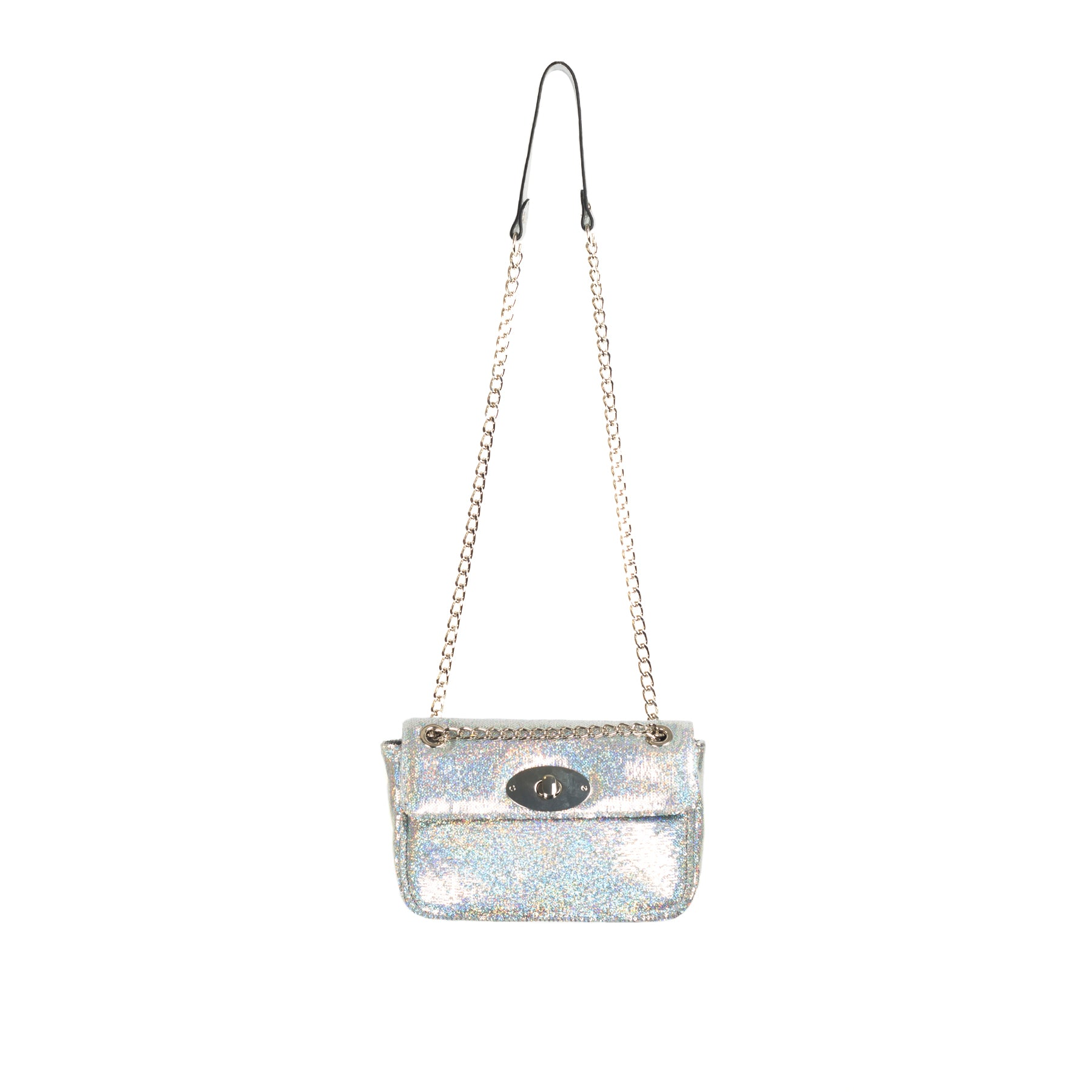 Juliet Grey Brilliant Leather Shoulder Bags