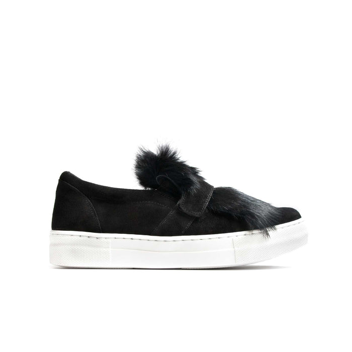 Landy Black Suede