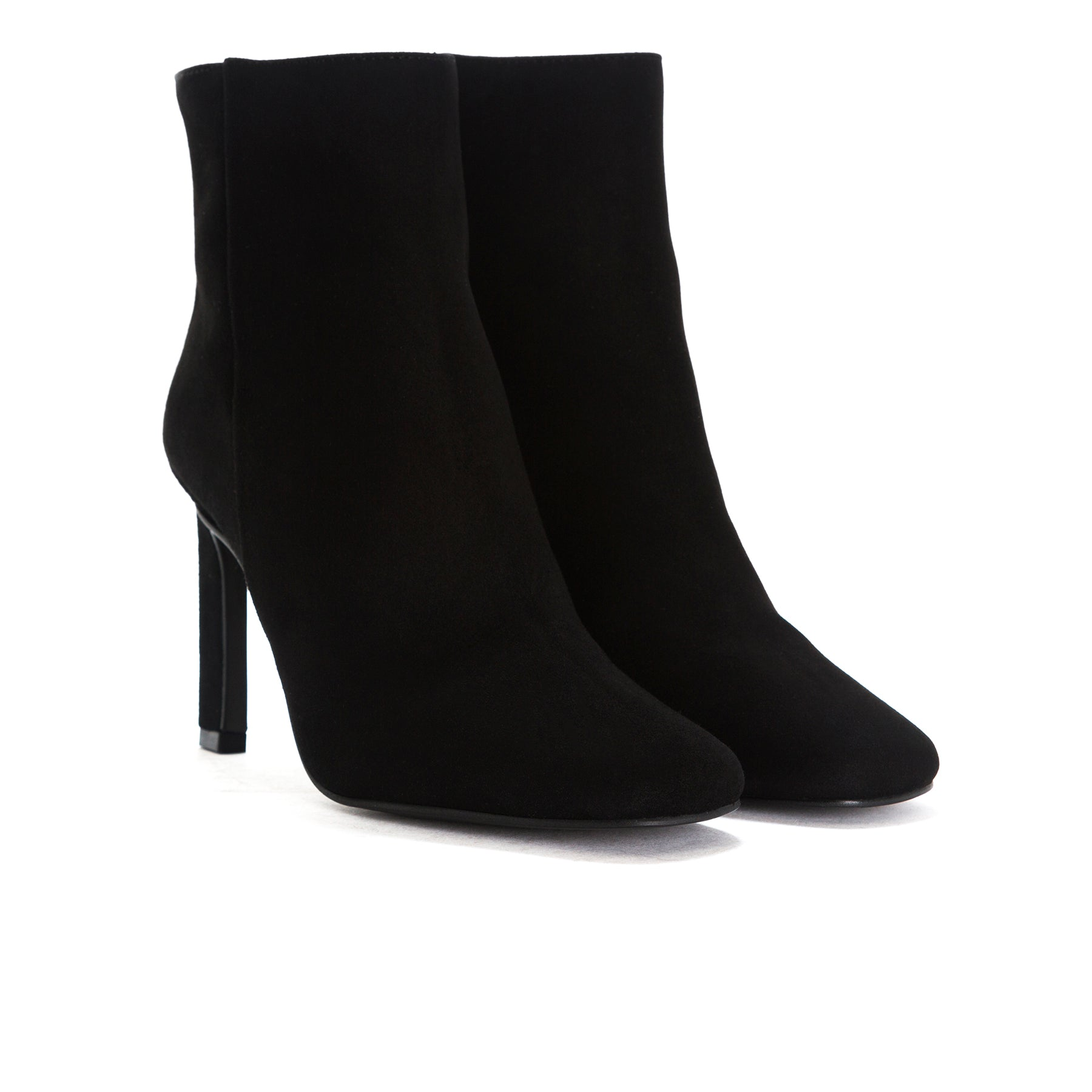 Lavrio Black Suede Booties