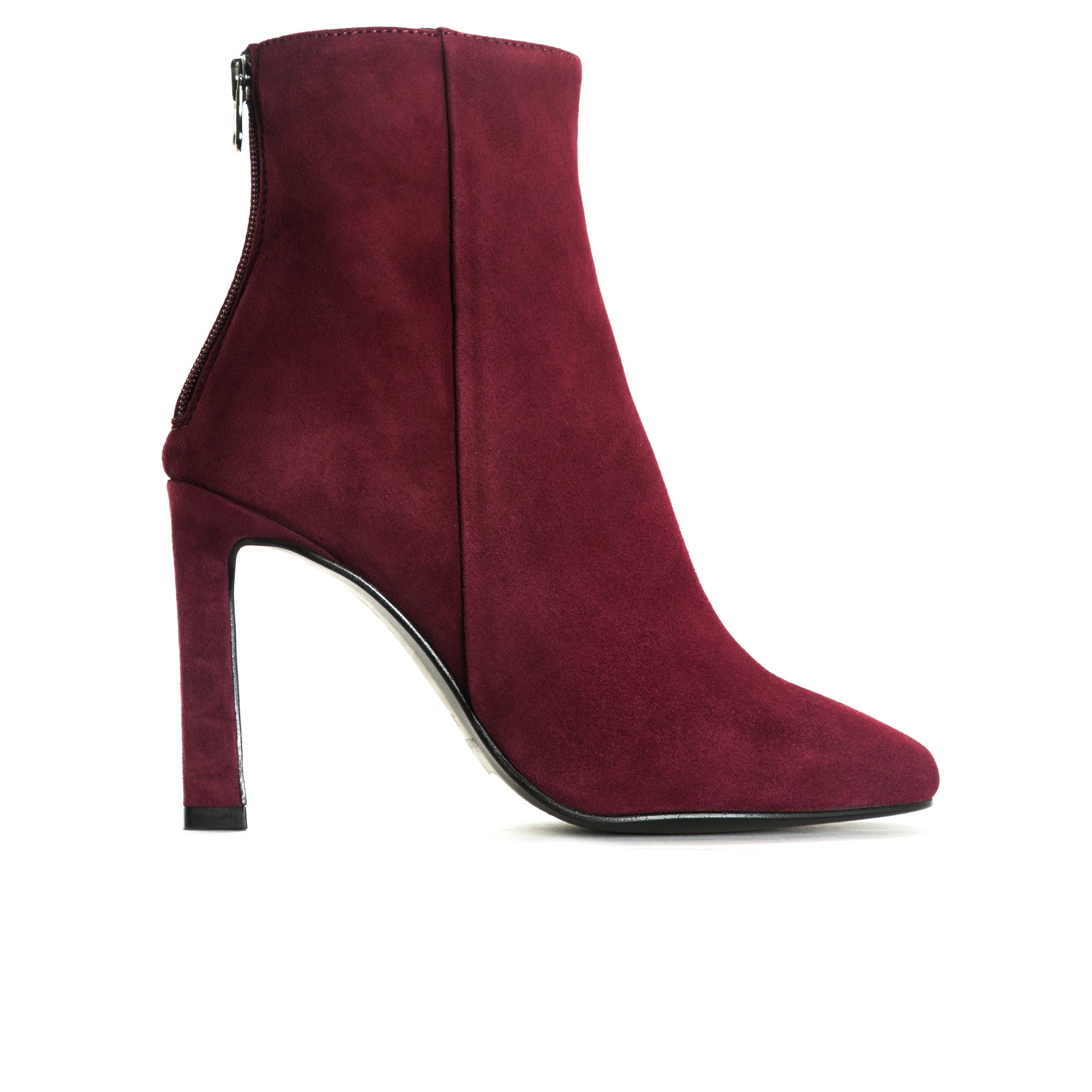Lavrio Bordo Suede Booties
