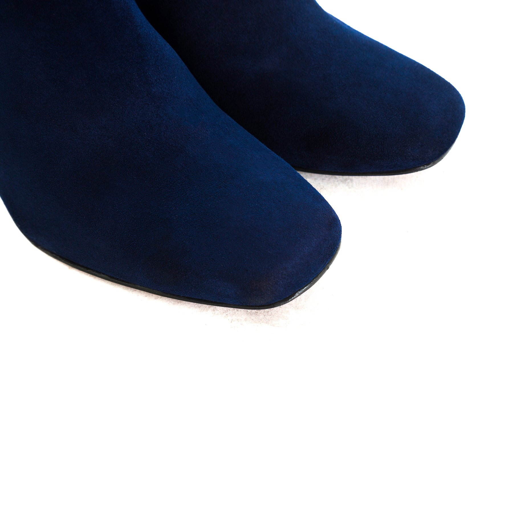 Lavrio Navy Suede Booties