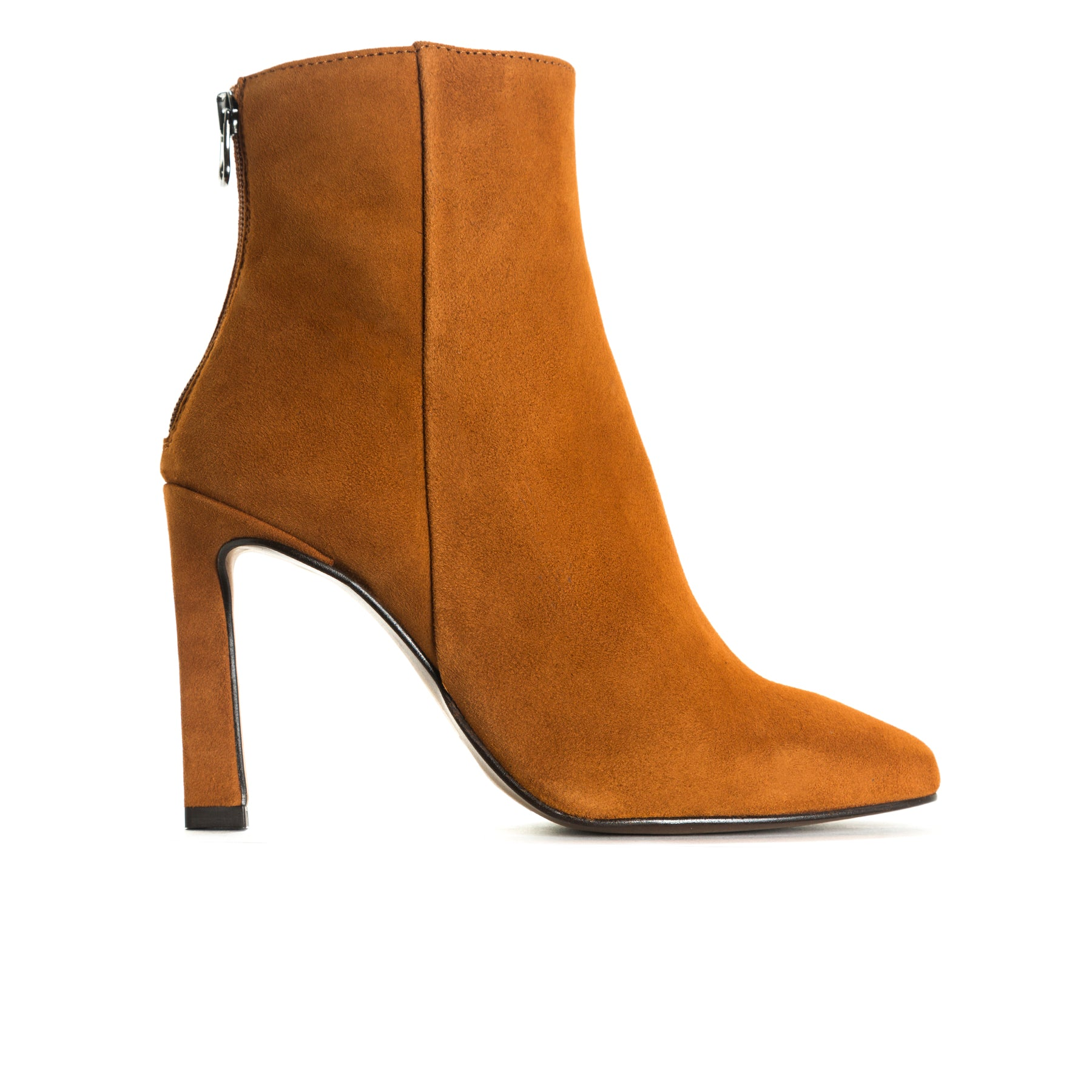 Lavrio Tan Suede Booties