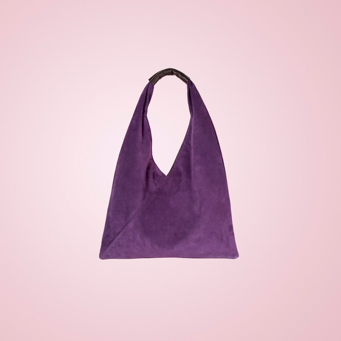 Victorie Purple Suede