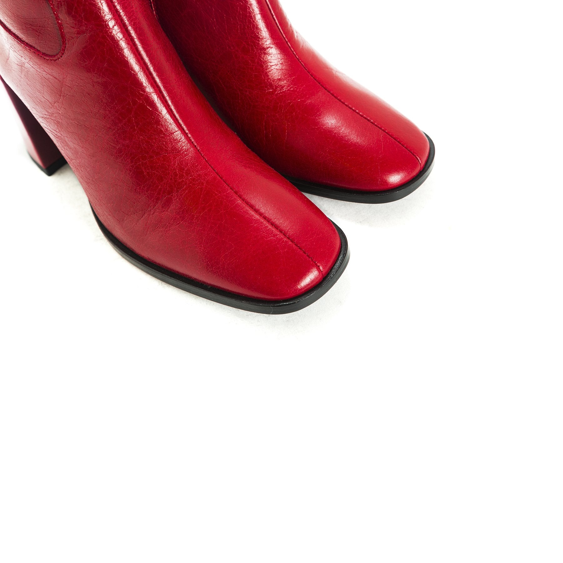 Malaga Red Leather