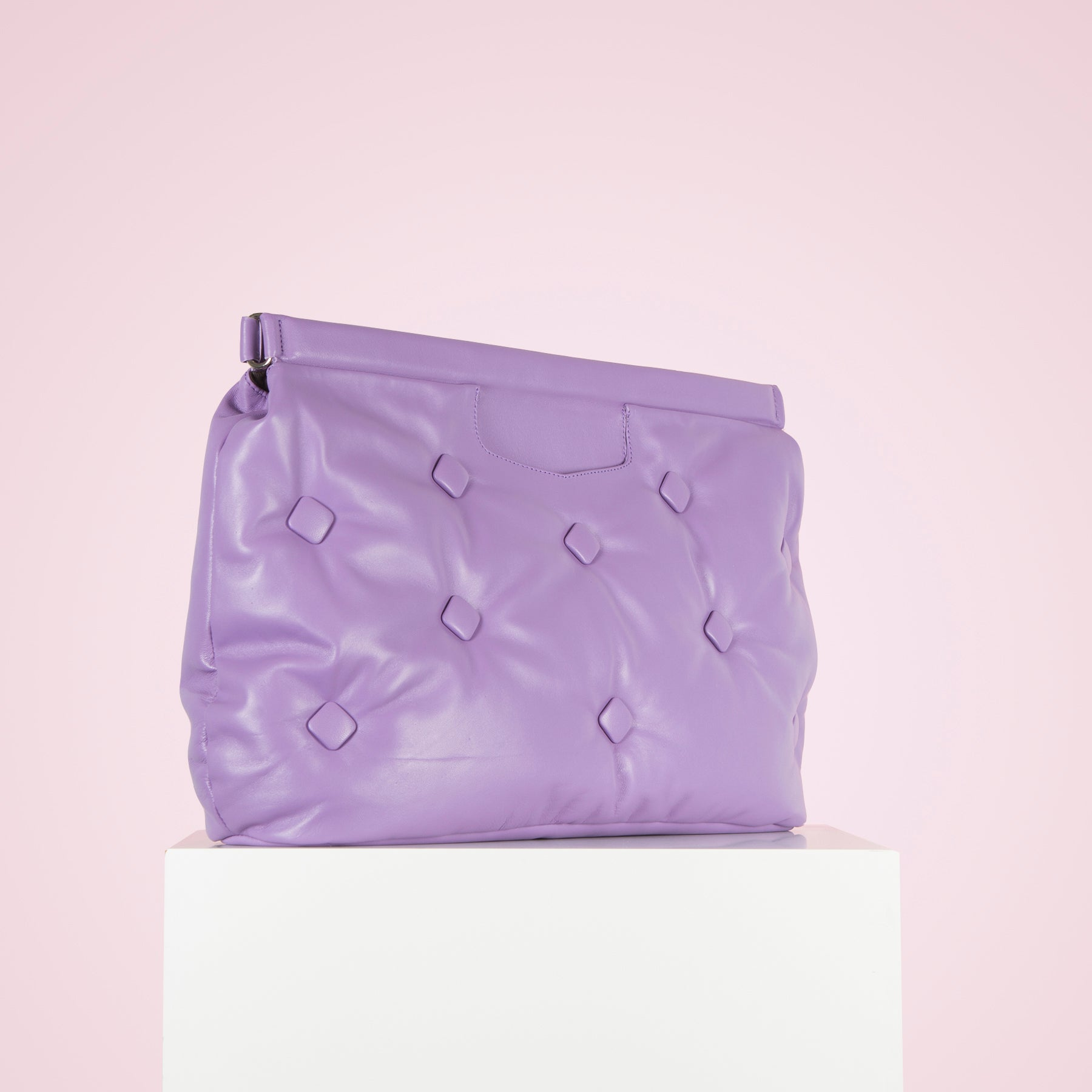 Marla Lilac Leather