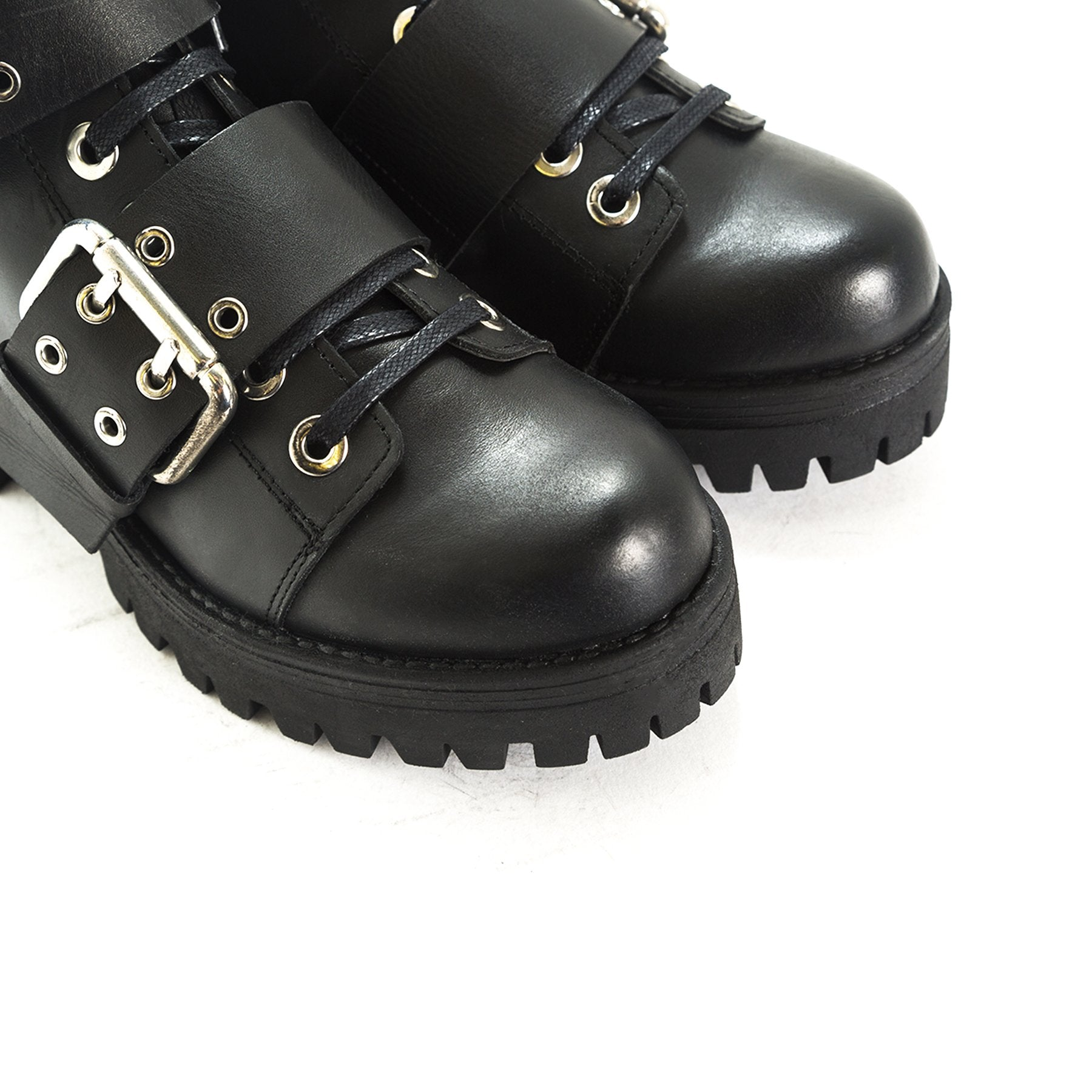 Pieler Black Leather